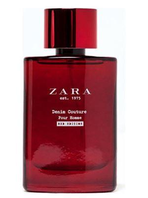 Zara est 1975 Denim Couture Pour Homme Red Edition