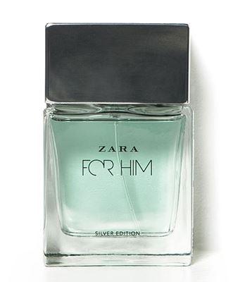 Zara for Him Silver Edition