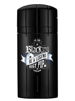 Black XS Be a Legend Iggy Pop